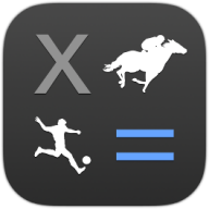 sports bet calculator ios app icon